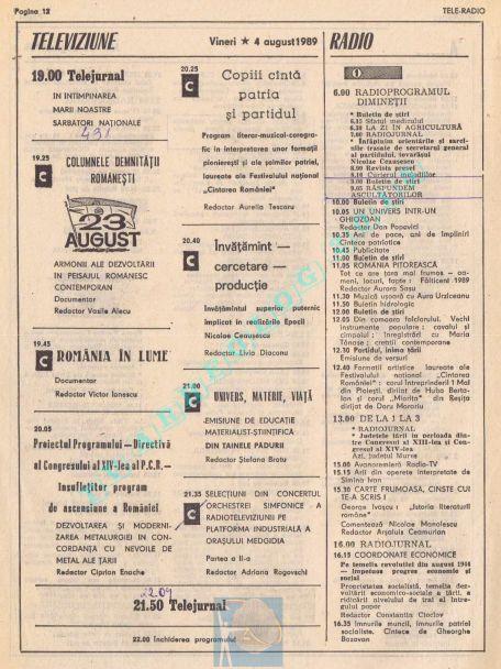 1989-08-04a Vineri Tv